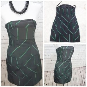 4x$20 Camille & marc mini black strapless dress